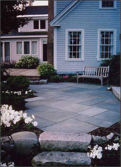 #3 bluestone patio